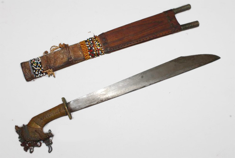 Antique Bagobo Sword From the Philippines